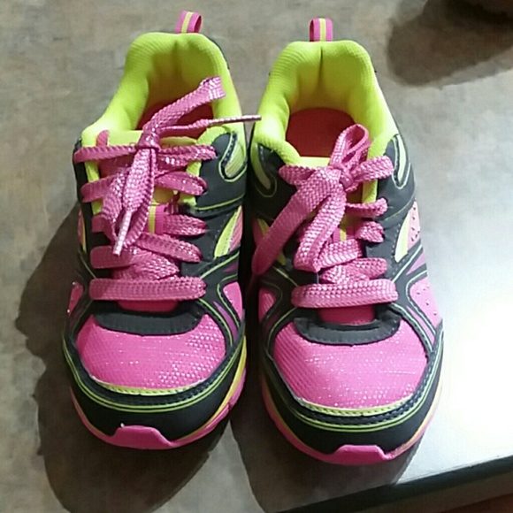 girls size 1 tennis shoes